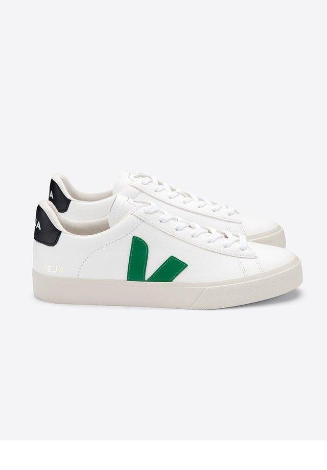 CAMPO CHROMEFREE LEATHER EXTRA-WHITE_EMERAUDE_BLACK - Trainers - white/green/black