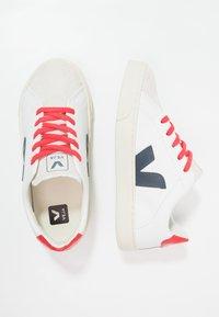 Veja - ESPLAR SMALL LACE - Trainers - extra white/nautico pekin - 0