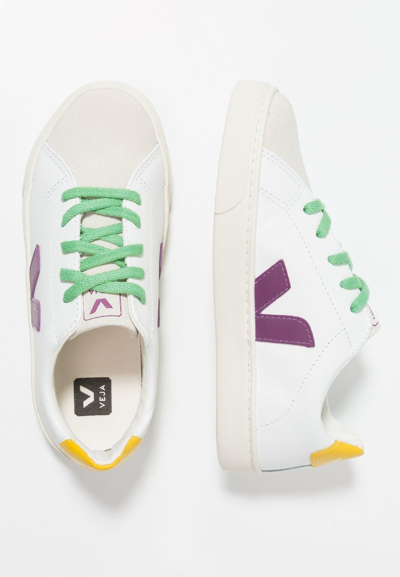 Veja - ESPLAR SMALL LACE - Trainers - extra white leaf laces
