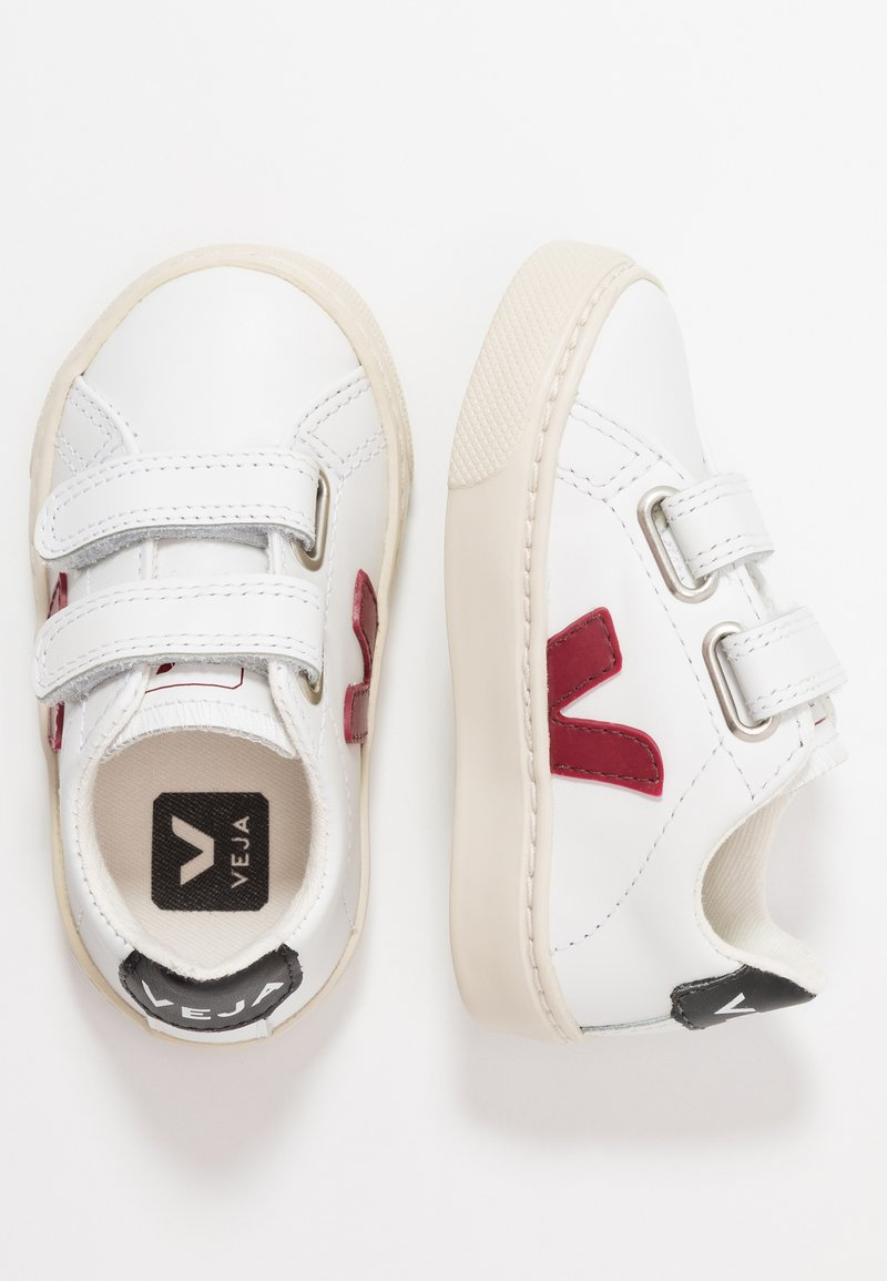 Veja - ESPLAR SMALL - Trainers - extra white/marsala/black
