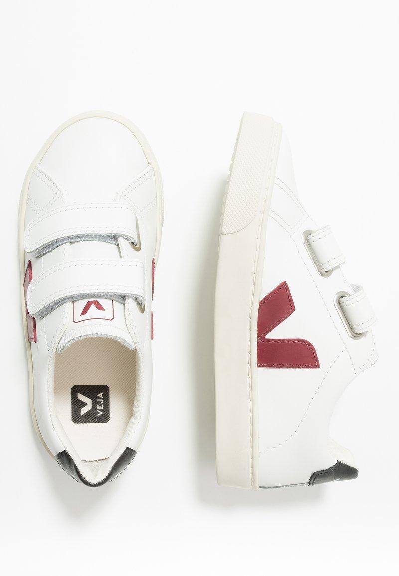 Veja - ESPLAR SMALL - Trainers - extra white/marsala/black