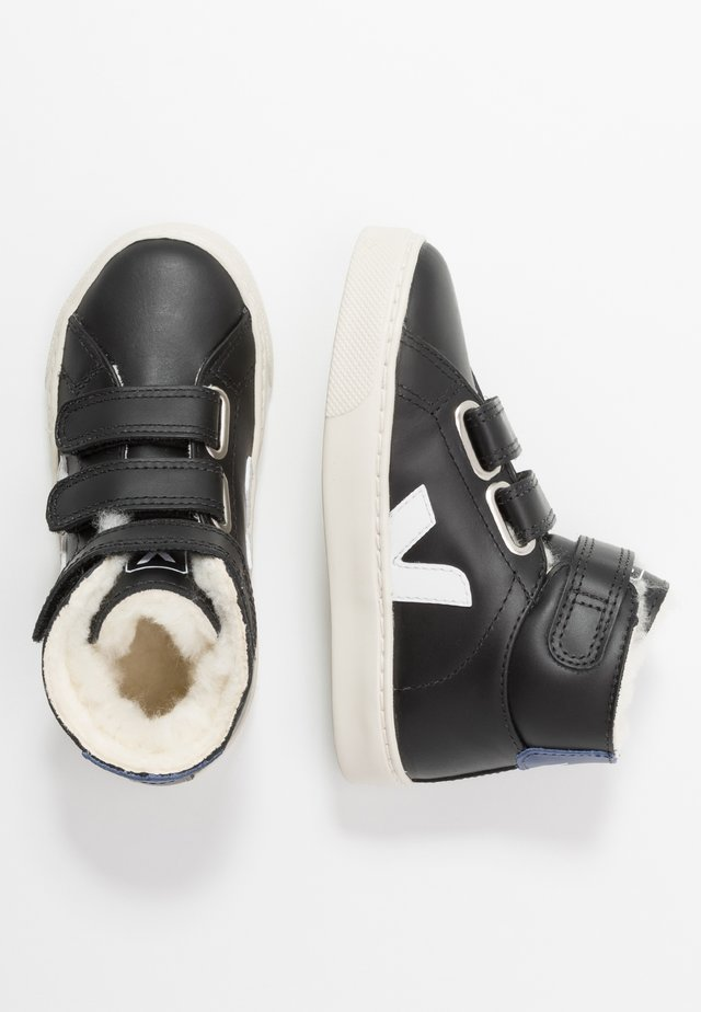 SMALL ESPLAR MID - High-top trainers - black/white/cobalt