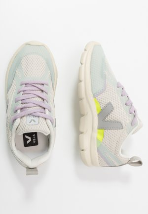 SMALL CANARY - Sneakers laag - natural/oxford grey/parme