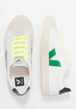 SMALL ESPLAR LACE - Trainers - extra white/emeraude/jaune fluo