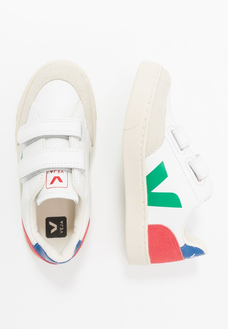 Veja - SMALL - Sneakers laag - extra white/emeraude/pekin