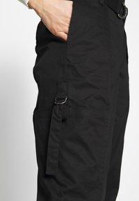 Ivko - CARGO PANTS - Bukse - schwarz - 4