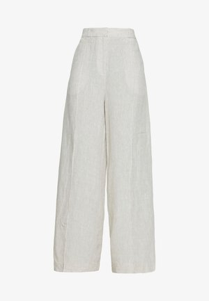 PANTS - Trousers - white coffee