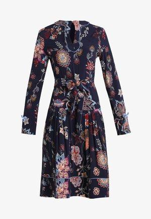 DRESS FLORAL PRINT - Denní šaty - marine