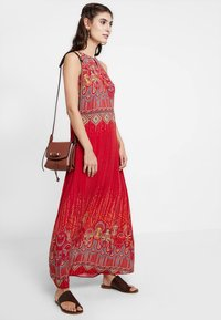 Ivko - LONG DRESS WITH PRINT - Vestito lungo - red - 2