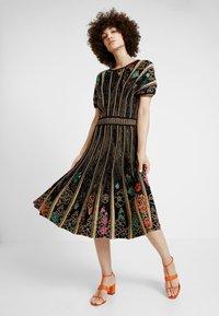 Ivko - DRESS PATTERN - Robe pull - black - 0