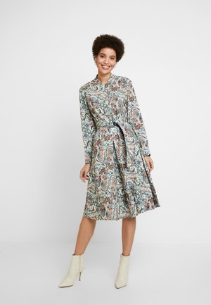 DRESS FLORAL PATTERN PRINT - Blusenkleid - off-white