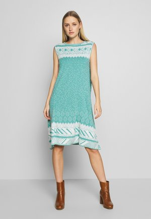 DRESS GEOMETRIC PATTERN - Vestito estivo - aqua