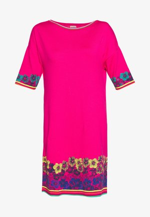 DRESS INTARSIA PATTERN - Neulemekko - pink
