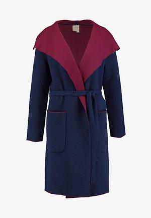DOUBLE FACED COAT - Cappotto classico - marine