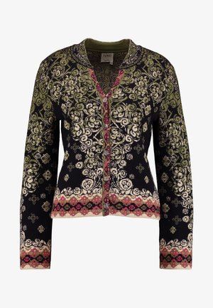 JACKET PATTERN - Kardigan - black