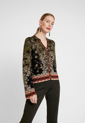 JACKET PATTERN - Strickjacke - black