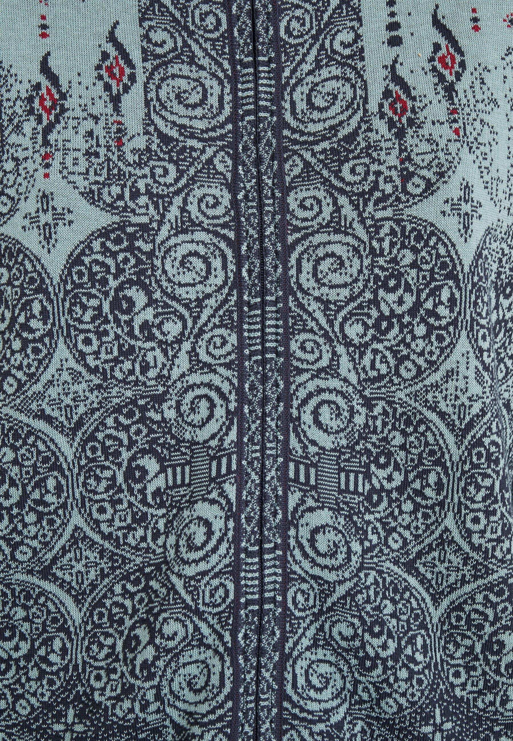 Ivko Buckled Cardigan - Gilet Aqua