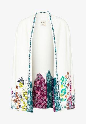 INTARSIA - Cardigan - white