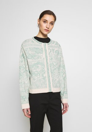 FIELD PATTERN - Cardigan - off-white