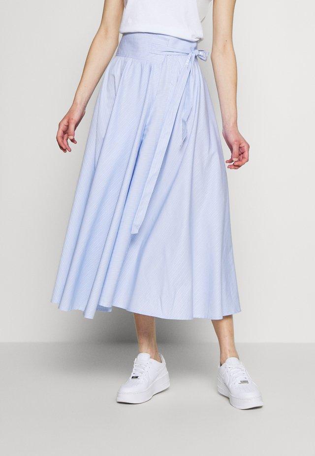 WJWR1-WOLFGANG JOOP - A-snit nederdel/ A-formede nederdele - blau