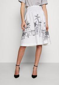 van Laack - RIVEN - Áčková sukně - white - 0