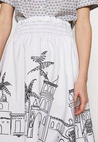 van Laack - RIVEN - Áčková sukně - white - 3