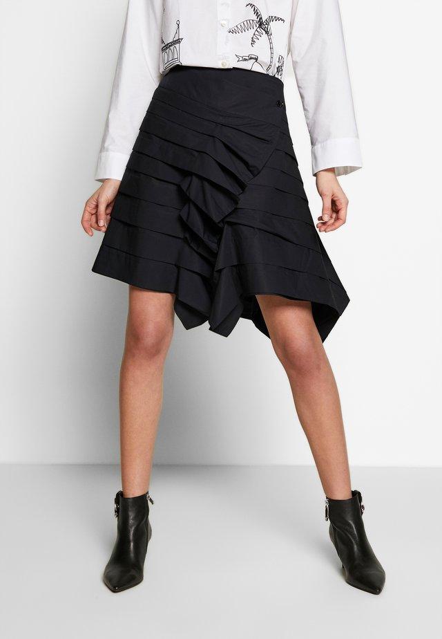 WJWR4-WOLFGANG JOOP - Mini skirt - schwarz