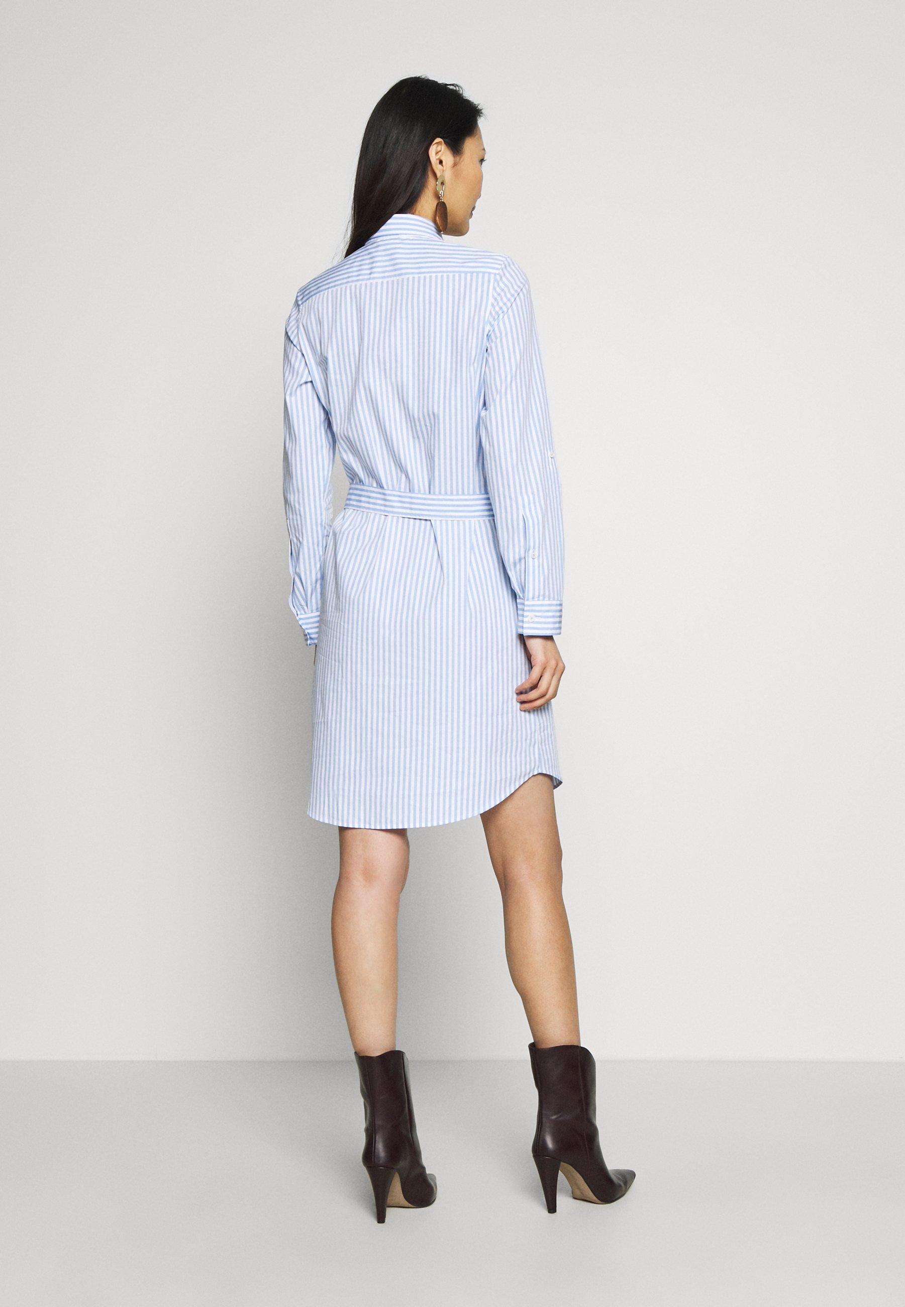 van Laack KEAS - Sukienka koszulowa - blau