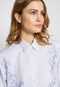 van Laack - WJWK2-WOLFGANG JOOP - Shirt dress - weiß blau - 3