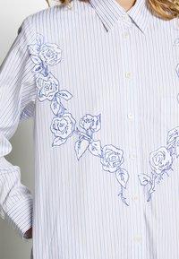 van Laack - WJWK2-WOLFGANG JOOP - Shirt dress - weiß blau - 5