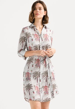 KEAS - Shirt dress - gray
