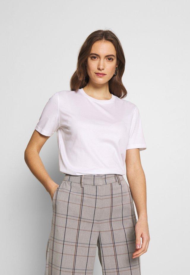 MOLEEN - Basic T-shirt - weiß