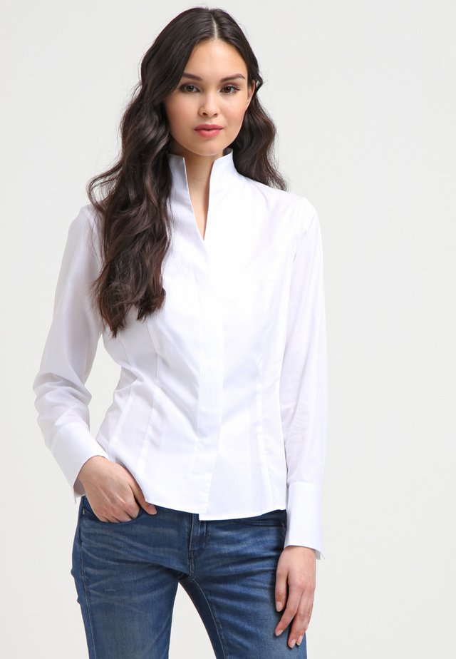 ALICE - Button-down blouse - white