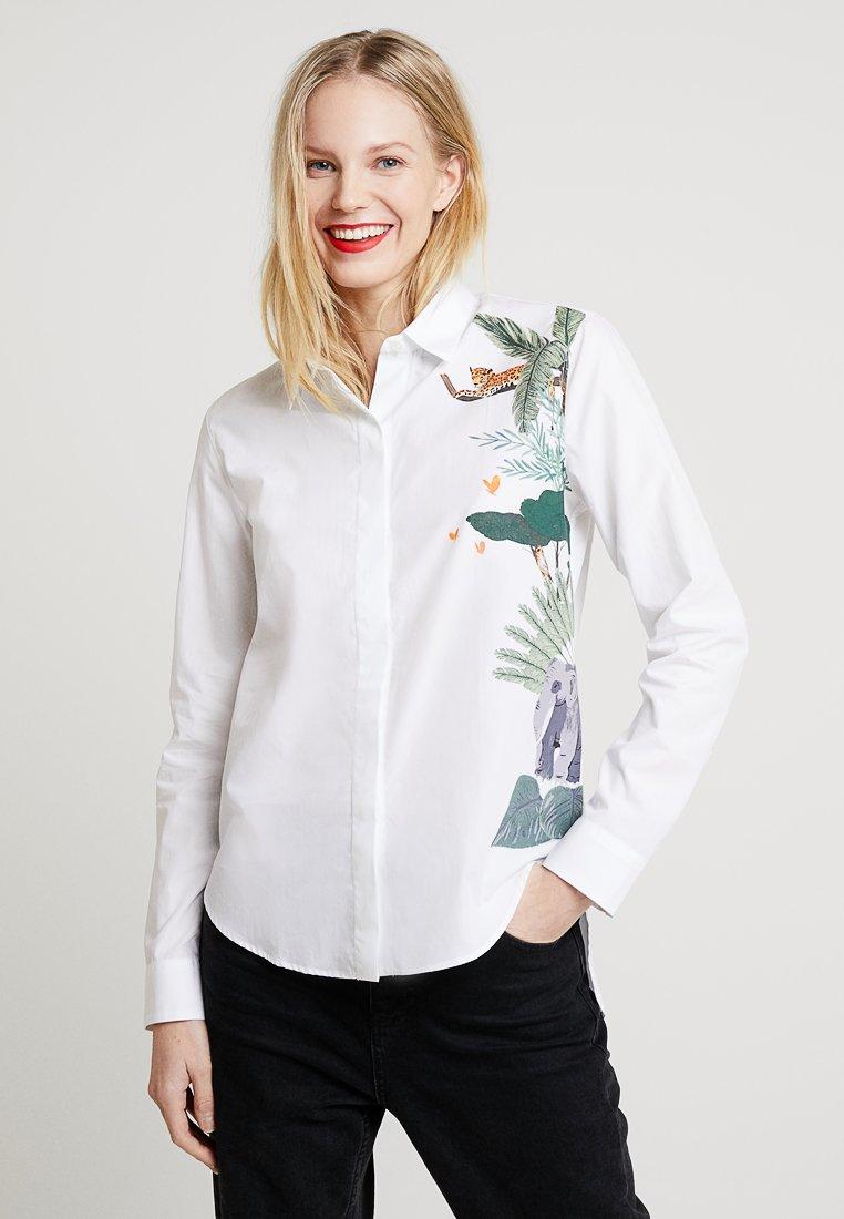 van Laack - BAY - Button-down blouse - white