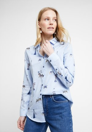 MODERN FIT - Overhemdblouse - light blue