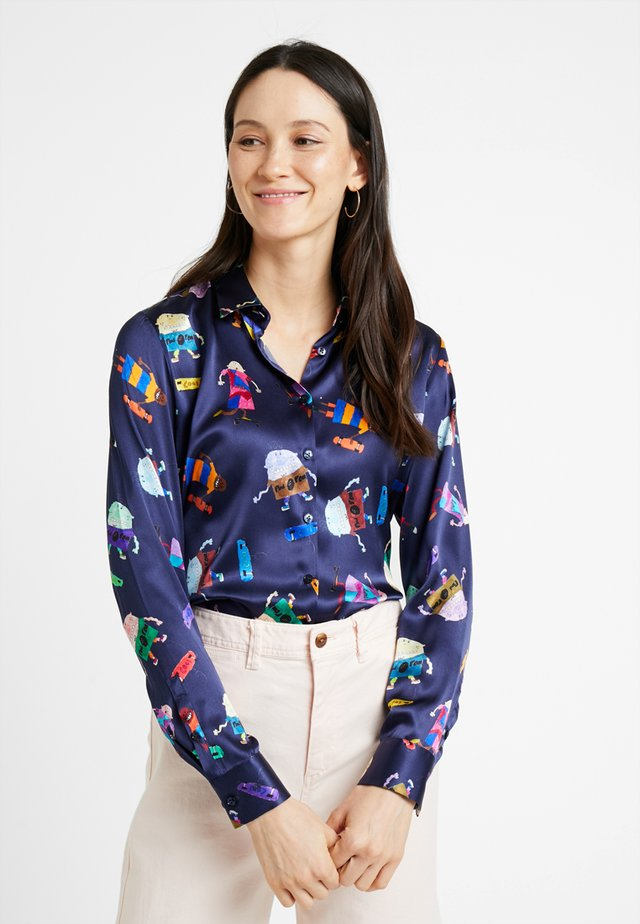 CARRY - Button-down blouse - purple