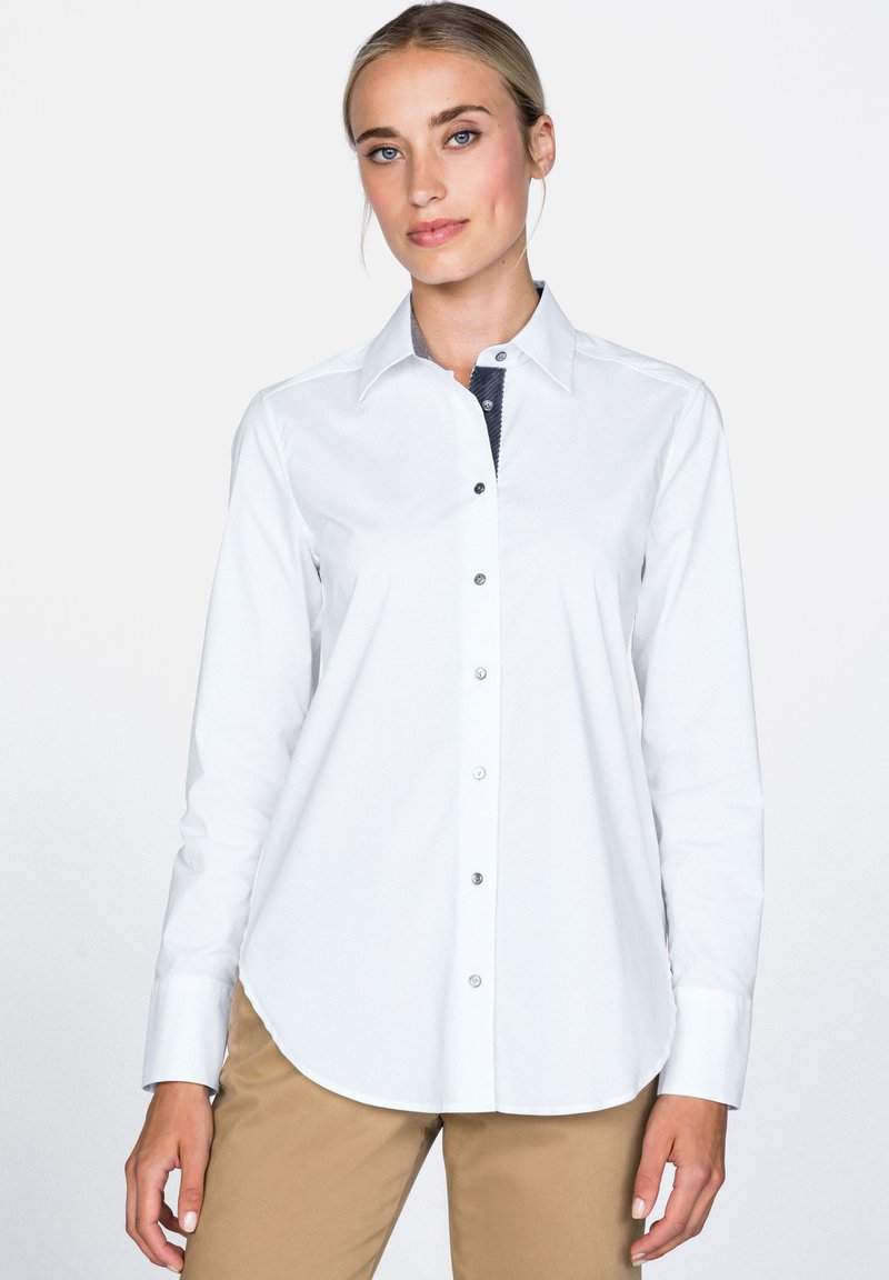 van Laack - BL-BUFFY-FPB - Button-down blouse - white