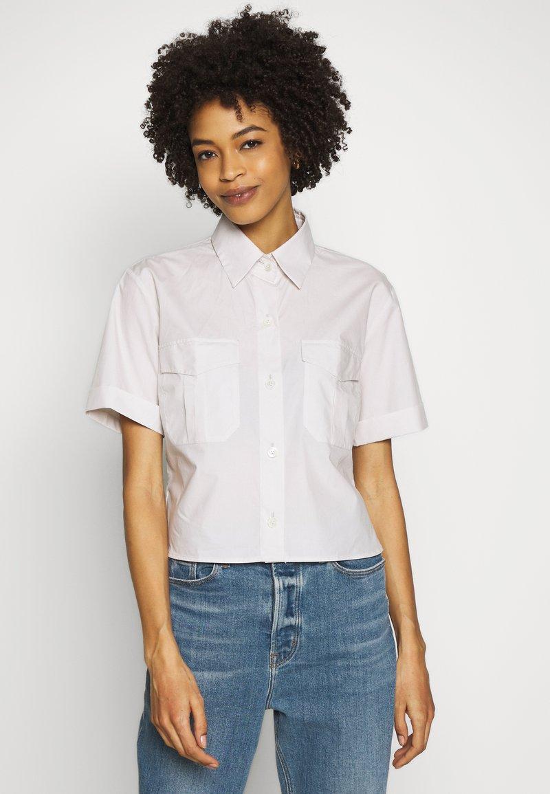 van Laack - LANEY - Button-down blouse - beige/braun