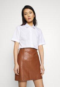 van Laack - ELLI - Button-down blouse - weiß - 0