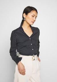 van Laack - METTY- WOLFGANG JOOP - Button-down blouse - navy - 0