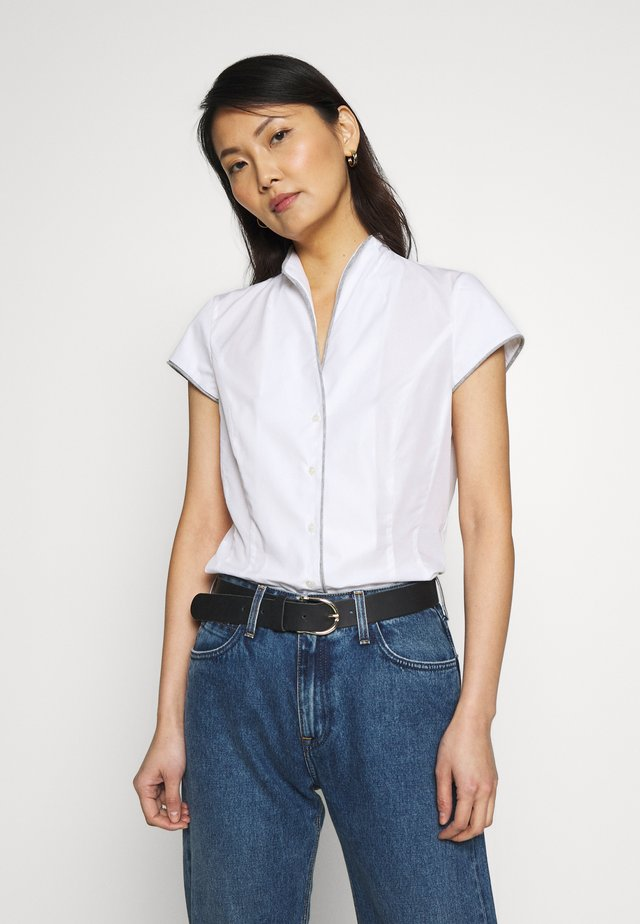 AILA - Button-down blouse - weiß