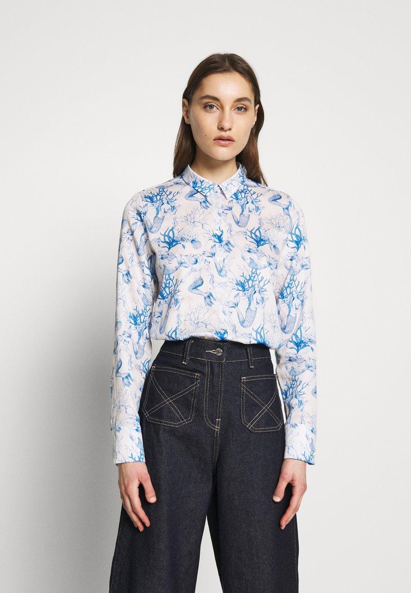 van Laack - CELLA - Button-down blouse - blau