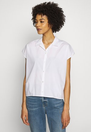 AILINE - Button-down blouse - weiss
