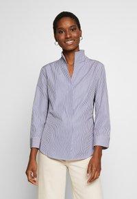 van Laack - WJWS2-WOLFGANG JOOP - Button-down blouse - navy - 0