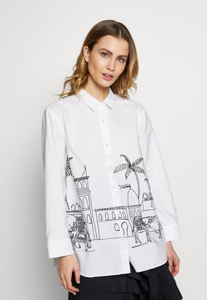 LALEH - Button-down blouse - white