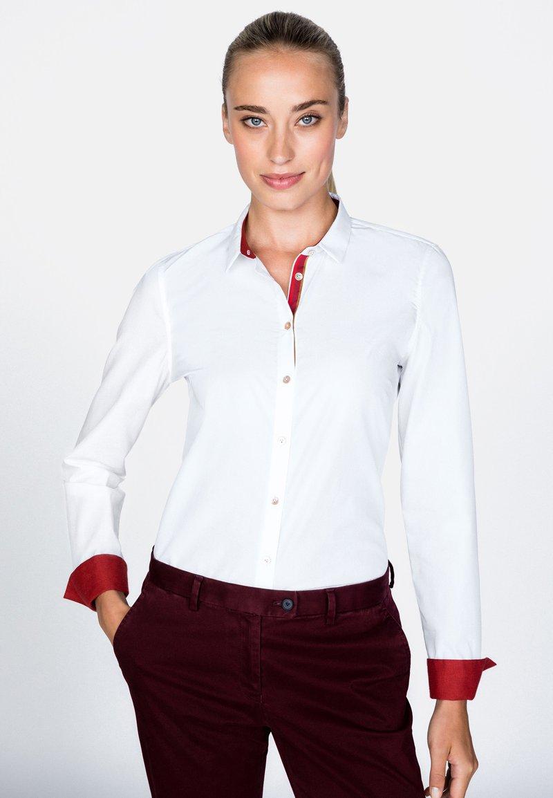 van Laack - DANIA-FPBKN - Button-down blouse - white