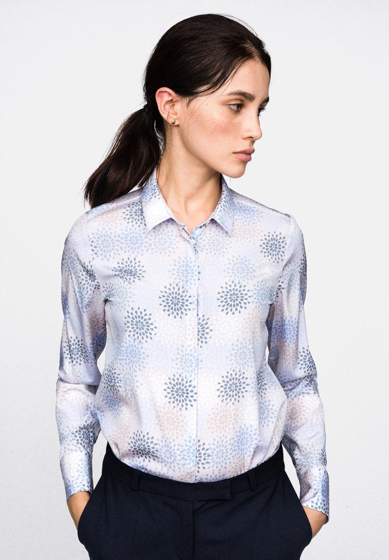 van Laack - MODERN FIT - Button-down blouse - blue