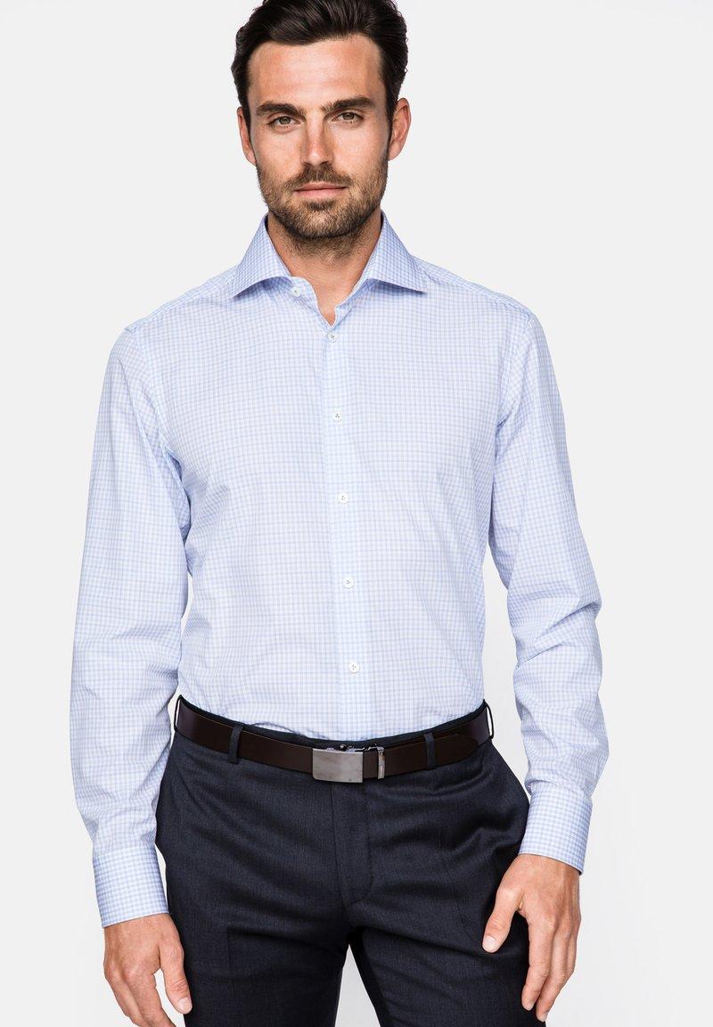 van Laack - RIVARA-TF - Hemd - white blue
