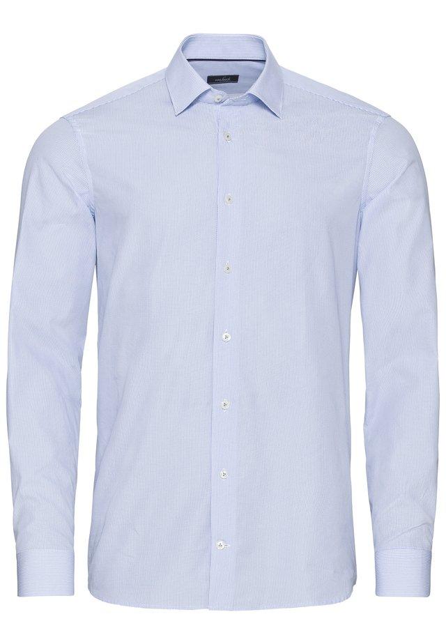 Businesshemd - weiß blau