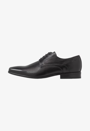 GOLIATH - Smart lace-ups - black